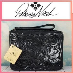 Patricia Nash Bags - Patricia Nash Cassini Wristlet Black